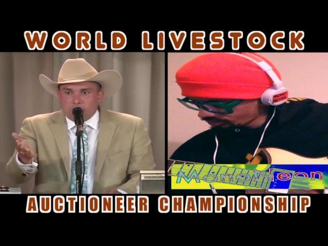 MonoNeon GUITAR WORLD LIVESTOCK AUCTIONEER CHAMPIONSHIP