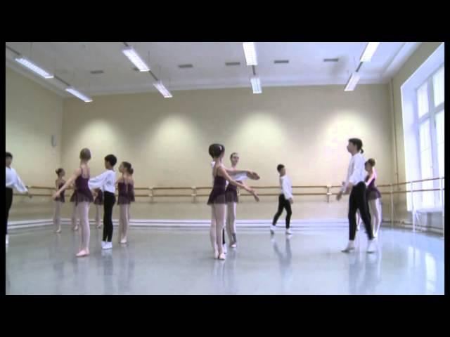 Vaganova Ballet Academy. Historical dance. 3rd class. 2014.