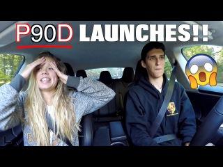 Tesla Model S P90D Ludicrous Launch Reactions!