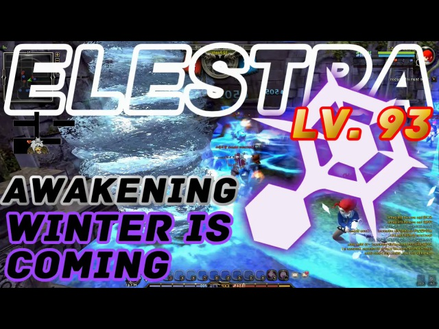 Dragon Nest PvP Elestra Respawn Awakening Lv 93 Winter is Coming KDN Spec Mode