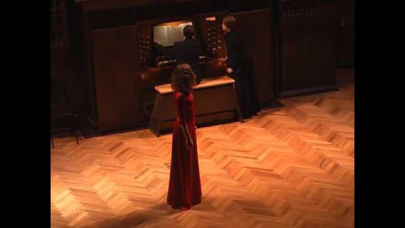 F Schubert - Du bist die Ruh, G A Rossini - In esilio
