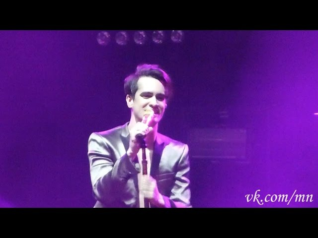 Panic! at the Disco - Don't Threaten Me with a Good Time @ Stadium Live, Moscow, 02.06.16
