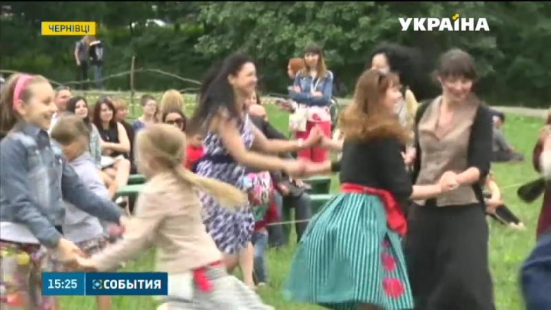День літнього сонцестояння відзначили за скандинавськими звичаями у Чернівцях