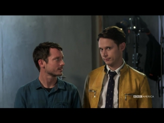 Dirk Gently's Holistic Detective Agency BLOOPERS - NYCC 2016