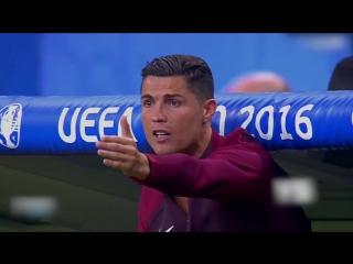 Роналду: второй тренер в финале ЕВРО 2016