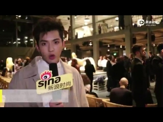 [VIDEO] 170221 Kris Wu Yifan @ Sina Interview