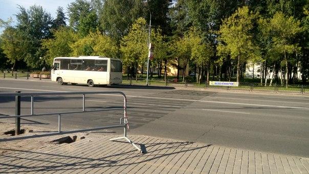 Фотофакт. В Новополоцке убрали одну «зебру», фото-2