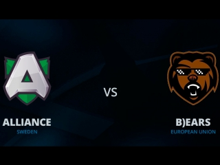 Alliance - Bears Epic Game. Kiev Major Qualifiers