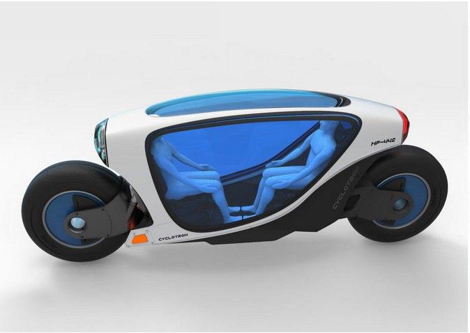 Разработан концепт беспилотного электромотоцикла Cyclotron