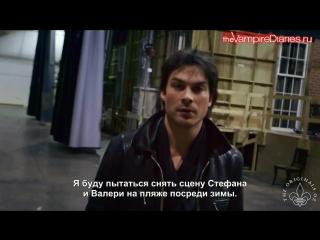 Дневники Вампира - Дополнительные материалы - Вампиры- режиссёры (РУС СУБ)