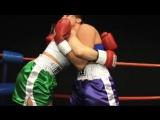 DT Boxing Erika Jordan vs Ariel X