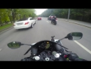 Неадекватная езда по городу на мото (без монтажа) 4K -- Inadequate riding on moto