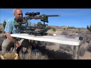 Magnum Lite® .22WMR Graphite Barracuda Forest Camo Rifle .50 @80 YARDS