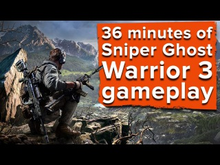 36 minutes of Sniper Ghost Warrior 3 gameplay - Ian plays three whole missions!