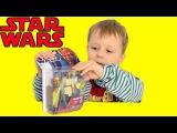 Распаковка  игрушки минифигурки Звездные войны Квай-Гон Джинн. Star Wars Qui-Gon Jinn unboxing