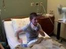 BSB visit fan in hospital - YouTube