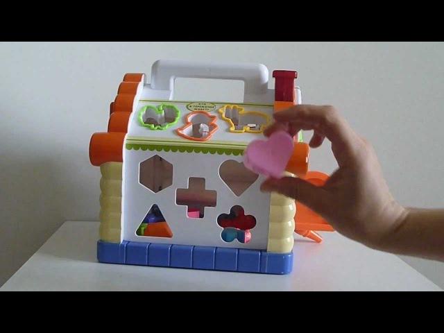 Теремок сортер Joy Toy - Музыкальная игрушка Джой Той