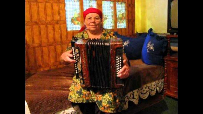 Татарская песня. Играет Шакирова Фануза 75 лет