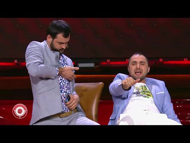 Демис Карибидис, Андрей Скороход и Гарик Харламов - На Кутузе в гелике