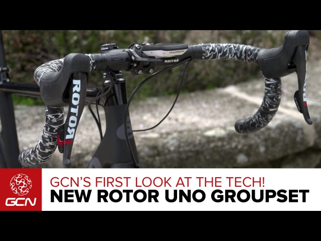 NEW ROTOR UNO Hydraulic Groupset –GCNs First Look At The Tech
