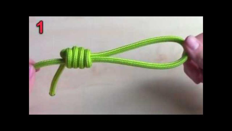 Как завязывать морские узлы. Полезный морской узел