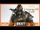 1v9 - For Honor WORLD'S BEST OROCHI Epic Moments Kills GAMEPLAY