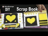 How to make a Scrapbook  12 Greeting cards Scrapbook  Valentine's Day Gift Idea  JK Arts 984