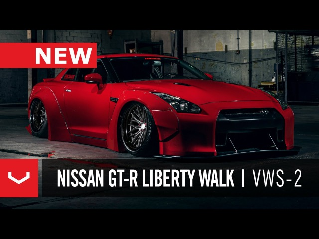 Nissan GT-R Liberty Walk | Vossen x Work Wheels | VWS-2