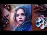 Rogue One A Star Wars Story - Jyn Erso  drawholic
