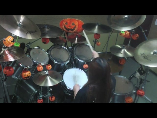 WHERE THE RAIN GROWS drum cover
