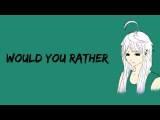 (MAIKA) Would You Rather German Vocaloid Cover