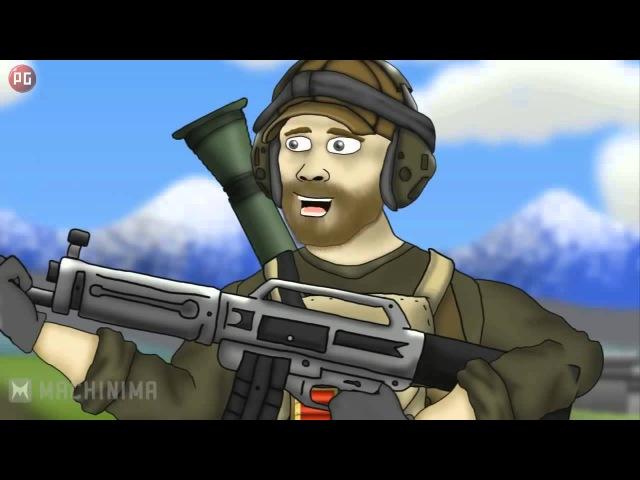 Друзья по Battlefield - USAS-12Фраги ( 1 Сезон 3 Серия )