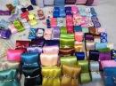 Канзаши Обзор посылки Ленты тычинки полубусины Интернет магазин Гранд Хобби