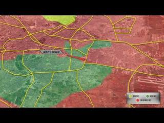 3-5 декабря. Продвижение сирийской армии в Алеппо. Русский перевод.