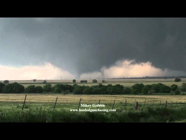 May 31 El Reno tornado hitting storm chaser Mikey Gribble