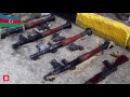 Cebhe Xettinde Ermenilerin Qoyub Qaçdığı Silah Sursat - Azerbaycan Ordusu Yenilmezdir!!