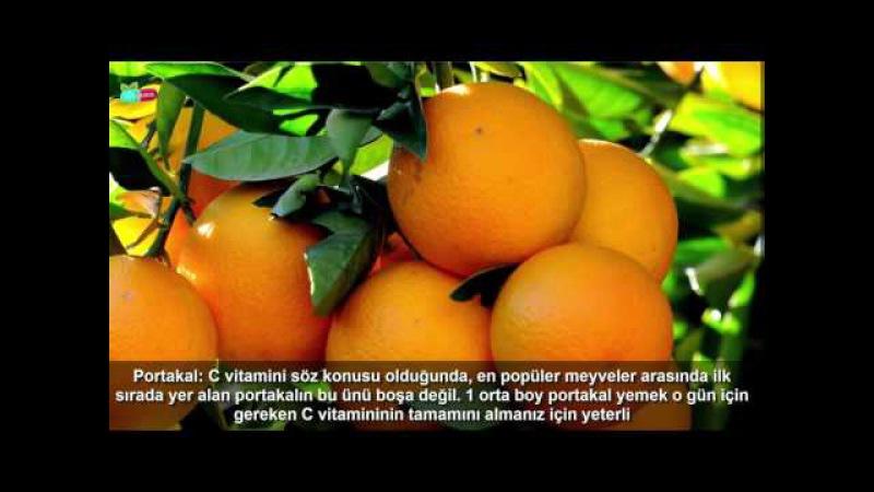 Vitamin C ilə zəngin qidalar - saglamliq haqqinda faydali melumatlar