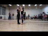Walter Fernandes &amp Oksana - Sensual Zouk demo in St.Petersburg