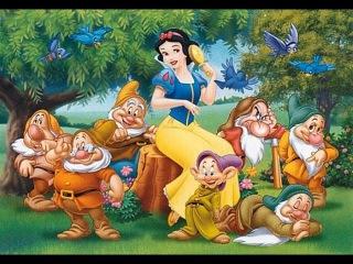 Английский для Детей. Сказка - Белоснежка и Семь Гномов / Snow White and Seven Dwarfs Tale