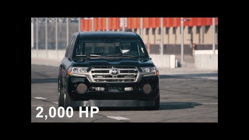 Toyota Land Speed Cruiser 2,000 hp 220mph