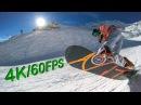 4K 60FPS Snowboard Edit St Moritz YI 4K World's First 4K 60FPS Action Camera