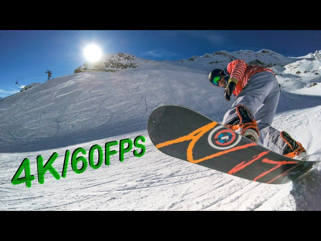 4K60FPS Snowboard Edit St. Moritz - YI 4K Worlds First 4K60FPS Action Camera