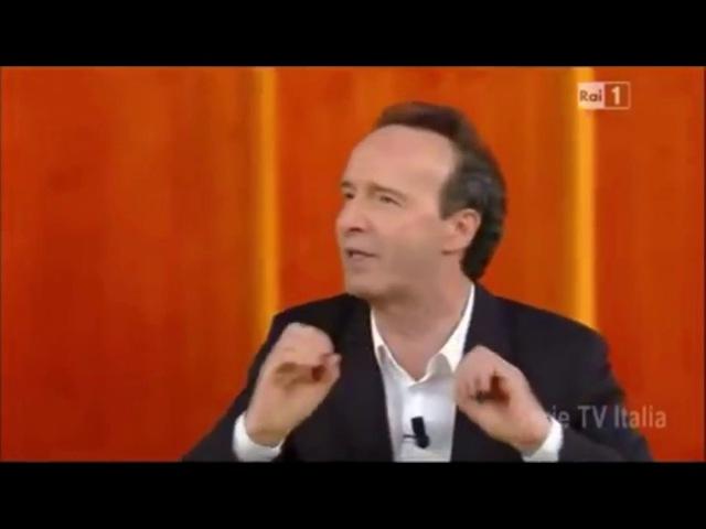 Roberto Benigni - Amarsi Роберто Бениньи о любви и счастье
