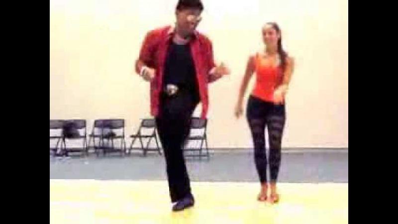 Eddie Torres and Shani Talmor Cha Cha Cha Footwork Part II 2013 Chim Pum Callao Niagara Falls