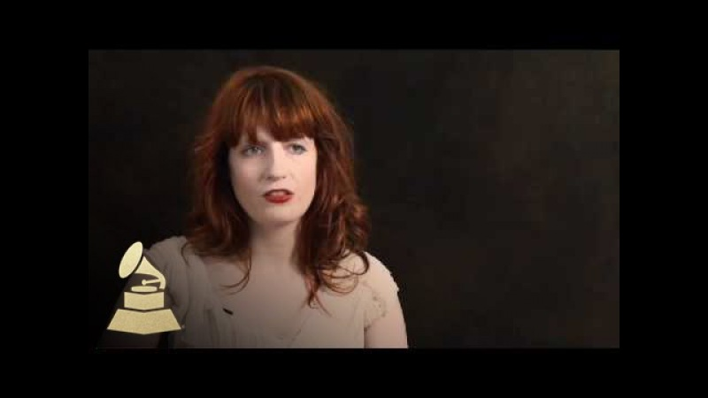 Florence Welch on her songwriting process   GRAMMYs