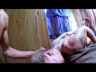 Выебал рот жену в веревках, инцест, 18+, русское порно, секс