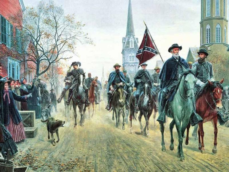 Гражданская война в США. Часть 2.