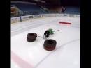 Детская тренировка по хоккею.