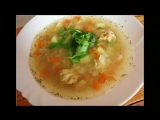 Суп рыбный для детей с крупой