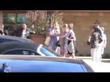 Фёрги покидает ресторан Nobu